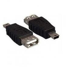 Преходник от Mini USB мъжко към USB женско  - Модел 1