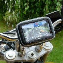Водоустойчив калъф за GPS навигация за МОТОЦИКЛЕТ