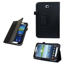 """Кожен калъф за Samsung Galaxy TAB 3 тип папка - 7"""" (P3200, P3210)"""