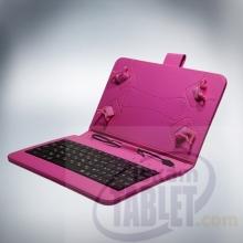 Калъф с кирилизирана клавиатура за таблети 7 инча - micro USB + БОНУСИ!