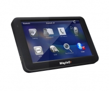 Двуядрена GPS навигация за камион WayteQ x985BT - 5 инча, 800mhz, 256MBRAM, Bluetooth
