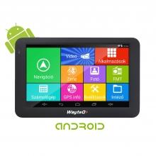 Четириядрена GPS навигация за камиони WayteQ x995 Android, Bluetooth, WIFI