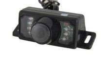 Универсална IR Камера за задно виждане с нощен режим 7 LED диода AC-607L