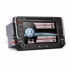 Мултимедия Двоен Дин 7 инча PF73MTV за VW ЕOS,Caddy,Golf plus,Golf V, GPS, USB