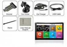 Мощна GPS навигация LEOS A601 - 7 инча, 800MHZ, 256MB RAM, 8GB