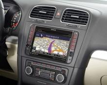 Mултимедия 7 инча Kenwood DNX521VBT за VW, GPS, Bluetooth
