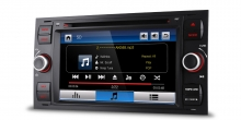 Мултимедия двоен дин за FORD Fiesta, Mondeo, Focus PF70FSFS-B, GPS, DVD, WinCE, 7 инча
