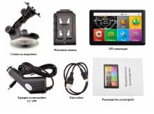 Двуядрена GPS навигация LEOS M60 - 5 инча, 800MHZ, 256MB, 8GB