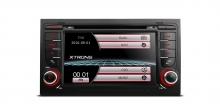 Навигация двоен дин за Audi A4 (2002-2008) PF71A4AS, WinCe, GPS, 7 инча