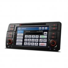 Навигация двоен дин за BMW E46 PF7146BS, WinCe, GPS, 7 инча