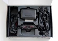 Парктроник с 4 датчика LCD дисплей и звукова сигнализация - ЧЕРЕН