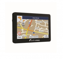 GPS навигация North Cross ES525FE - 5 инча, 256MB RAM, 8GB