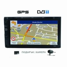 Универсална навигация двоен дин с Android 6922, GPS, DVD, WiFi, 7 инча + ТЕЛЕВИЗИЯ