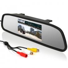 3в1 парктроник + камера за задно виждане + огледало AT BV-4300-02