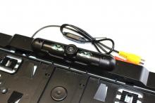 Камера за задно виждане в рамка за номера с 4IR нощен режим AT BRC-751IR