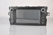Навигация двоен дин за Toyota Auris 07-12 N TY23A c Android GPS, DVD, 7 инча