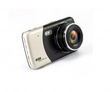 Видеорегистратор - DVR две камери AT BTK43 с 4 инча дисплей 5mpx