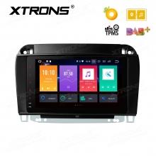 Навигация двоен дин за Mercedes W220 W215 с Android 8.0, PE88M220PL, WiFi, GPS, 8 инча