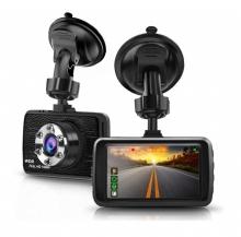 Видеорегистратор за кола АТ SD13 с 3.0 инча монитор с 2 камери