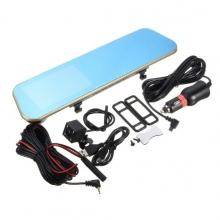 Видеорегистратор - огледало 4.3 инча + камера за паркиране AT BTK15L 2CAM FULL HD