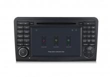 Навигация двоен дин за Mercedes Benz W164 с ANDROID 8.0 MKD-W164-9558,GPS,WiFi, 4G, 7 инча