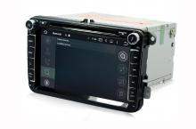 Навигация двоен дин за VW, SEAT, SKODA с ANDROID 8.0 MKD-9308, GPS, WiFi, 4G, 8 инча
