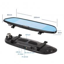 6в1 Огледало за кола LEOS C08 7 инча GPS + Таблет + 3G + DVR + КАМЕРА ЗА ПАРКИРАНЕ