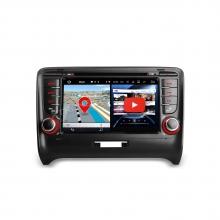 Навигация двоен дин за Audi TT MK2 с Android 7.1, PA77ATTP, WiFi, GPS, 7 инча