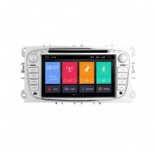 Навигация двоен дин FORD с Android 8.1 FO0702A81, GPS, WiFi, DVD, 7 инча