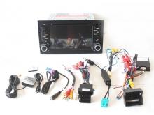 Навигация двоен дин Audi A4 с Android 9.0 AU0702A9, GPS, WiFi, DVD, 7 инча