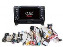Навигация двоен дин Audi A4 с Android 8.1 AU0703A81, GPS, WiFi, DVD, 7 инча