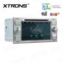 Навигация двоен дин за Ford с Android 6.0, PB76QSFP-S, WiFi, GPS, 7 инча