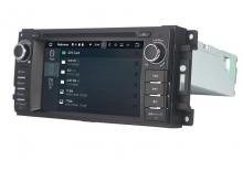 Навигация двоен дин Jeep Chrysler Dodge с Android 8.1 JP6201A81, GPS, WiFi, DVD, 6.2 инча