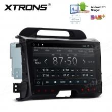 Навигация двоен дин за Kia Sportage Series 3 с Android 7.1, PD97SPKL, WiFi, GPS, 9 инча