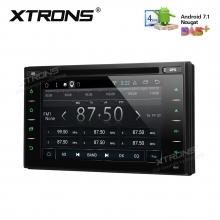 Универсална навигация двоен дин TCD618 с Android 7.1, Wifi, DVD, GPS, 7 инча