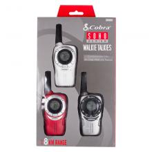 Комплект радиостанции Cobra SM660 - бяла, сива и червена