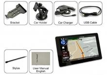 GPS навигация MEDIATEK E5 256MB RAM - 5 инча, КОЛА-КАМИОН