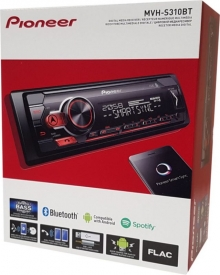 Аудио плеър Pioneer MVH-S310BT 1-DIN USB/Bluetooth