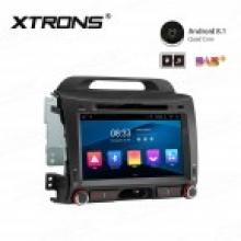 Навигация двоен дин за KIA SPORTAGE, Android 8.1 PC88SPK, WIFI, GPS, 8 инча