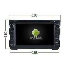 Мултимедия за KIA CEED 2010 MKD-354 ANDROID 7.1, GPS, WiFi, 7 инча