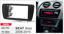 Преден панел двеон дин за Seat Ibiza след 2008 ICE/ACS/11-364