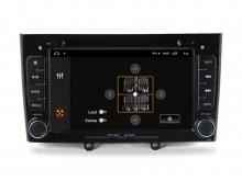 Навигация двоен дин за PEUGEOT 308,408 с Android 10 PE7370H GPS, WiFi,DVD, 7 инча