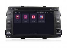 Навигация двоен дин за KIA Sorento (10-12) с Android 9.0 K4000H GPS, WiFi, DVD, 7 инча