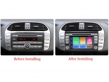 Навигация двоен дин за FIAT BRAVO с Android 10 FI7080H GPS, WiFi, DVD, 7 инча