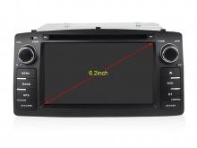 Навигация двоен дин за TOYOTA Corolla E120/E130 с Android 10 T4315H GPS, WiFi,DVD, 6.2 инча