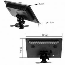 Комплект камера за камион за паркиране + 10.1 инчов монитор с 2 видео входа