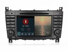 Навигация двоен дин за MERCEDES W203 W209 с Android 10 M6919H GPS, WiFi, 7 инча