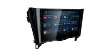 Навигация двоен дин за Nissan Qashqai, X-Trail, Rogue PST10XTN с Android 10, GPS, WiFi, 10.1 инча