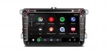 """Навигация двоен дин за VW / Skoda / Seat PQ80UNV GPS, ANDROID 10, WiFi, 8"""""""