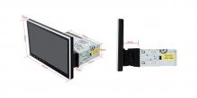 """Универсален eдиничен дин навигация DA100L GPS, ANDROID 10, 2GBRAM, 16GB, 10"""""""
